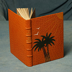 bookbinding leather